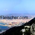 Jeff Fleischer panorama Rock of Gibraltar